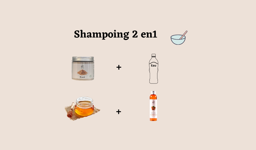 DIY/ Shampoing 2 en 1